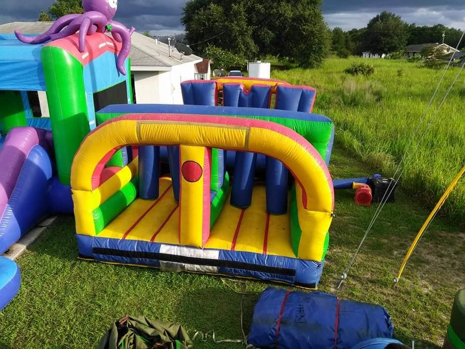 Obstacle Course Bounce Rental - Ocala, FL