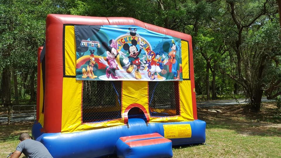 Mickey Mouse Bounce House - Ocala, FL