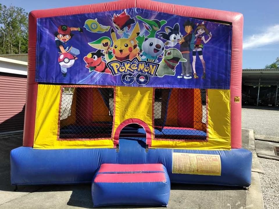 Pokemon Bounce House - Ocala, Fl