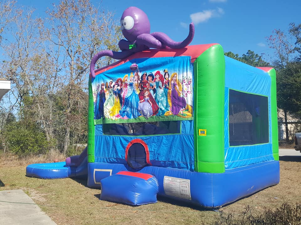 Princess Bounce House Rental - Ocala, FL