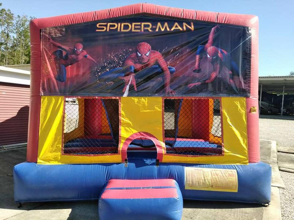 Spider Man Bounce House - Ocala, FL