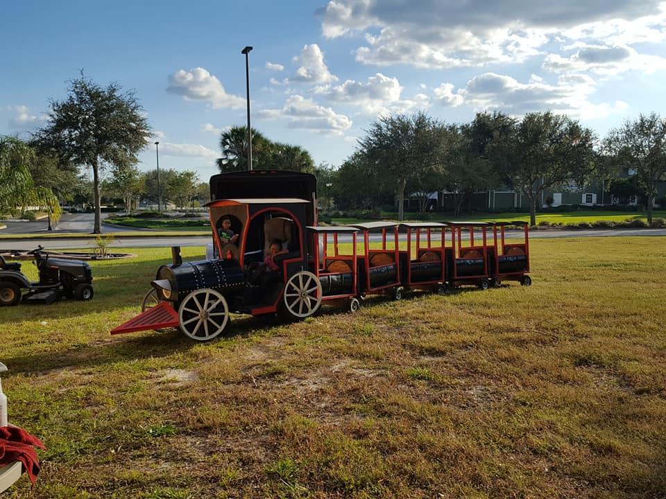 Trackless Train Rental - Ocala, FL