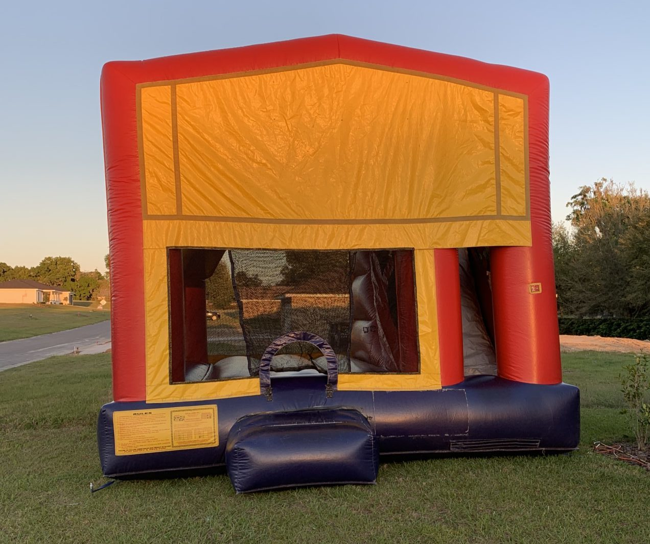 Bounce House Without Character Banner