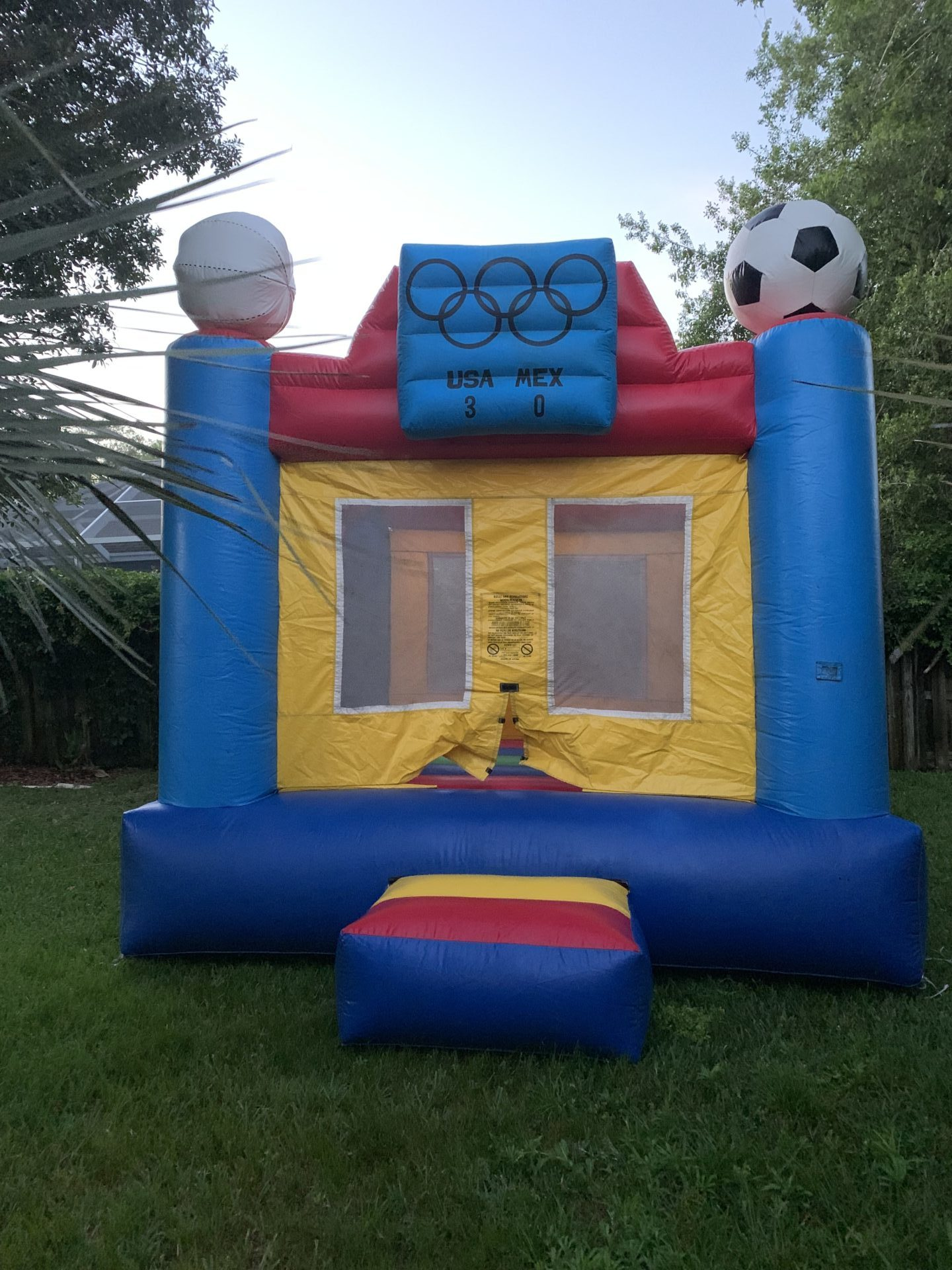 Olympic Sports Bounce House