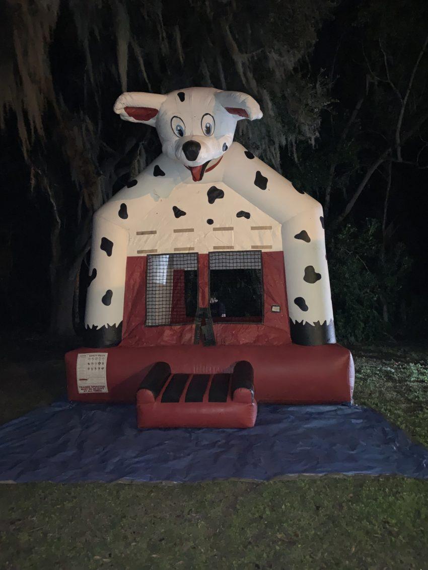 Dalmatian Dog Bounce House Ocala, FL