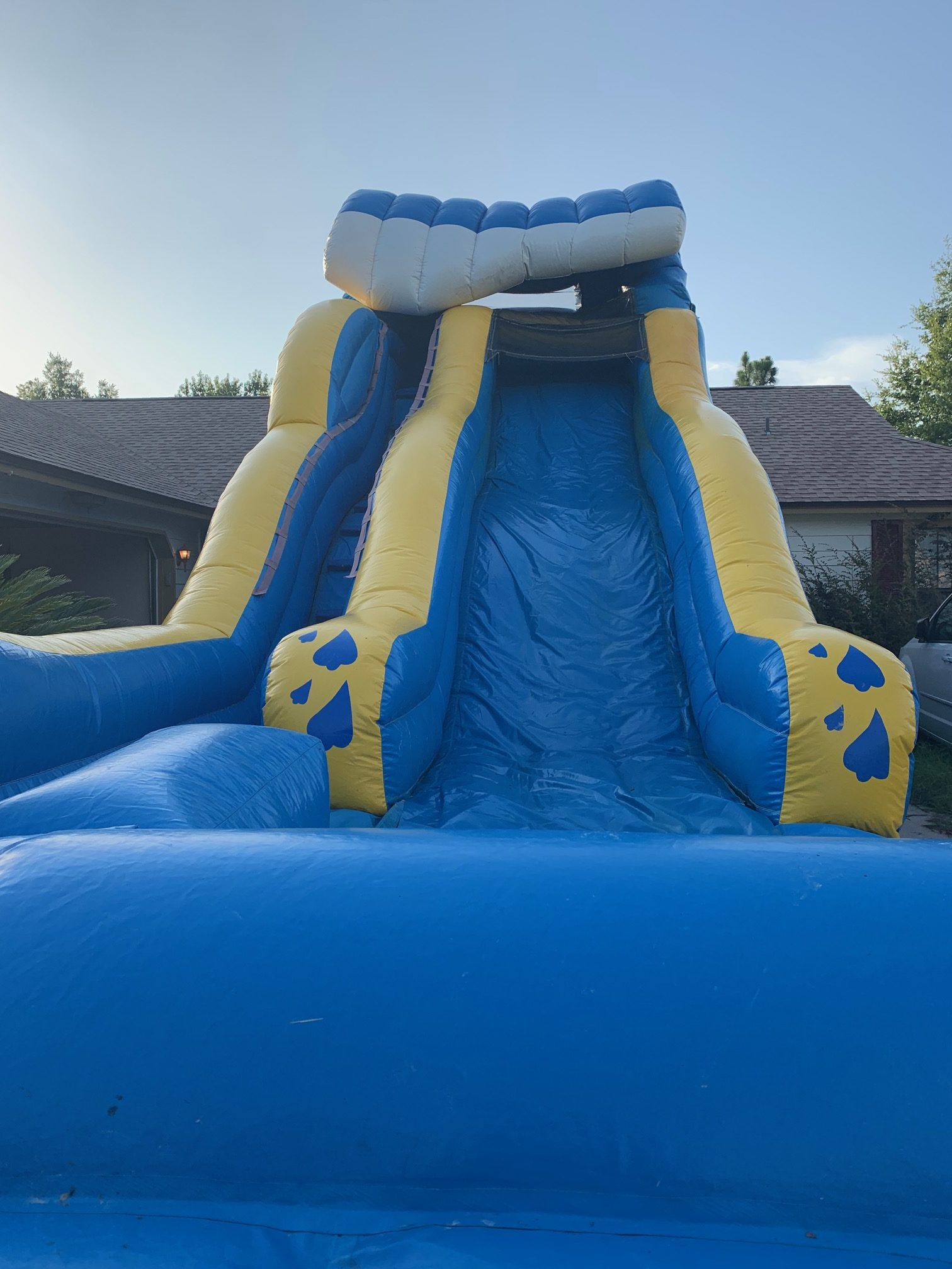 Wipe Out Bounce Slide