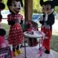 Mickey Mouse & Minnie Mouse wish a one year old little girl happy birthday!