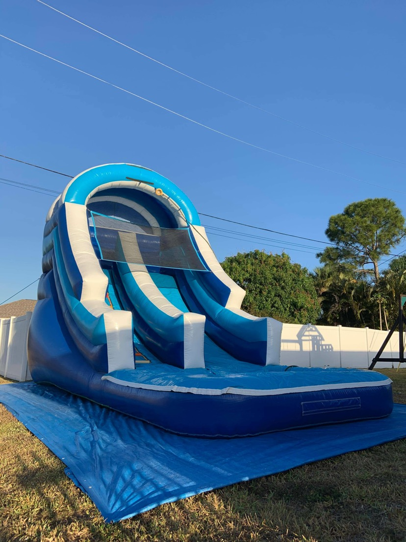 Blue Rush Water Slide